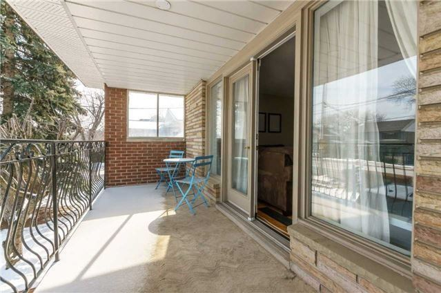 House for rent at 1162 Kipling Ave | Unit: upper, Etobicoke, ON. This is the patio terrace.
