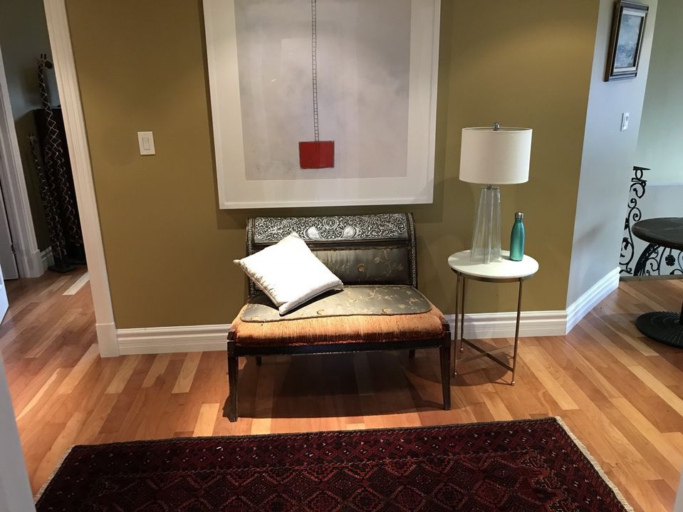 House for rent at 23 Walnut Crescent, Etobicoke, ON in contemporary style. This is the misc room with hardwood floor.