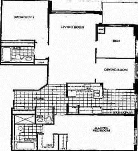 Apartment for rent at 350 Mill Rd | Unit: 203, Etobicoke, ON. This is the plan.