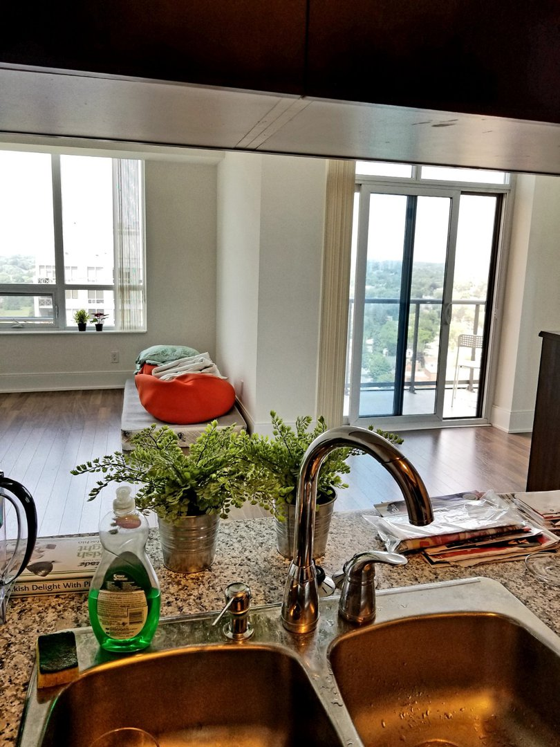 Condo for rent at 25 Viking Ln, Etobicoke, ON. This is the details with natural light.