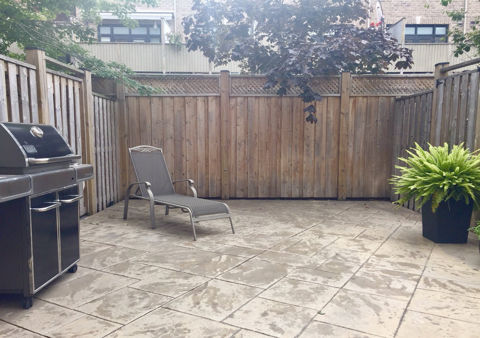 House for rent at 60 Superior Creek Ln, Etobicoke, ON. This is the patio terrace.