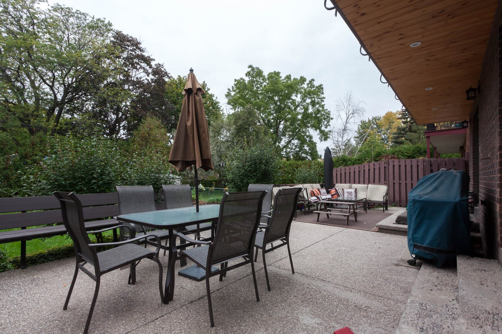 House for rent at 84 Laurel Avenue, Etobicoke, ON. This is the patio terrace.