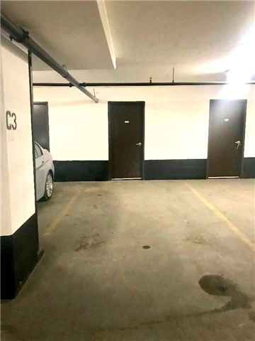 Condo for rent at 33 Shore Breeze Drive, Etobicoke, ON. This is the garage.