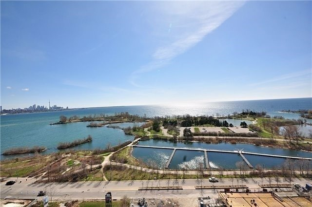 Condo for rent at 33 Shore Breeze Drive, Etobicoke, ON. This is the water view with water view.
