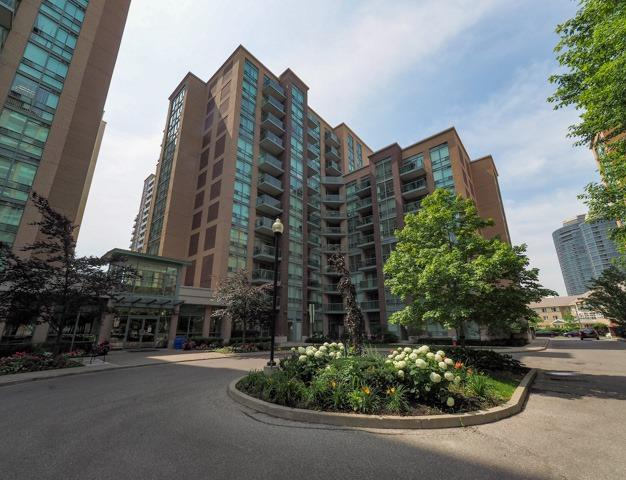 Condo for rent at 11 Michael Power Pl, Etobicoke, ON. This is the outdoor building.