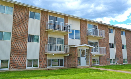 Apartment for rent at 10203 Franklin Ave, Fort McMurray, AB. Heatherton Apartments