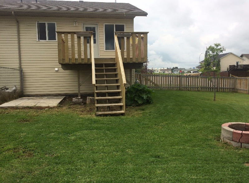 House for rent at 10112 98a St, Grande Prairie, AB.