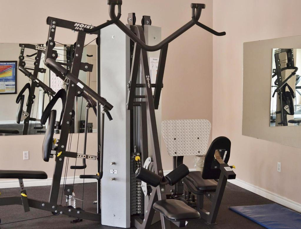 Apartment for rent at 96 Highfield Park Drive, Halifax, NS. This is the gym with carpet.