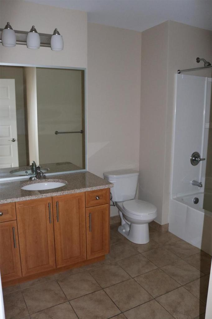 Apartment for rent at 3330 Barnstead Lane, Halifax, NS. This is the bathroom with tile floor.
