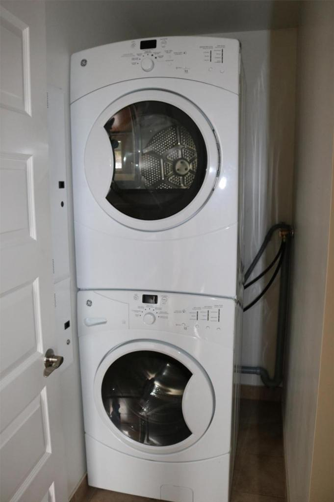 Apartment for rent at 3330 Barnstead Lane, Halifax, NS. This is the laundry room with hardwood floor.