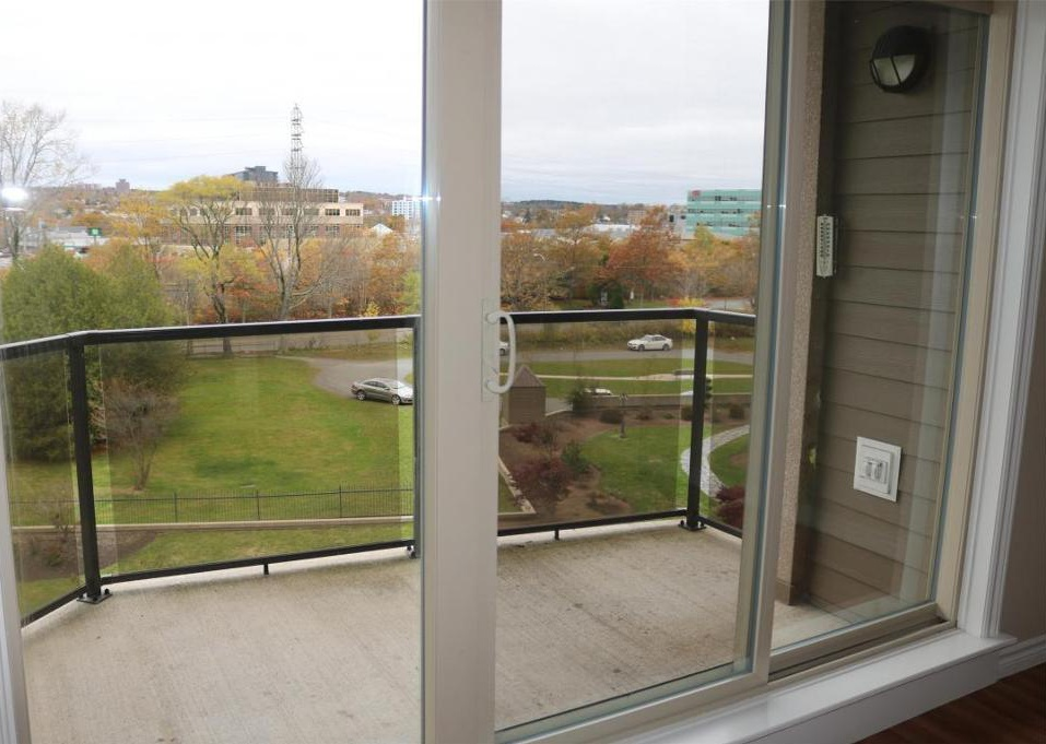 Apartment for rent at 3330 Barnstead Lane, Halifax, NS. This is the patio terrace with natural light.