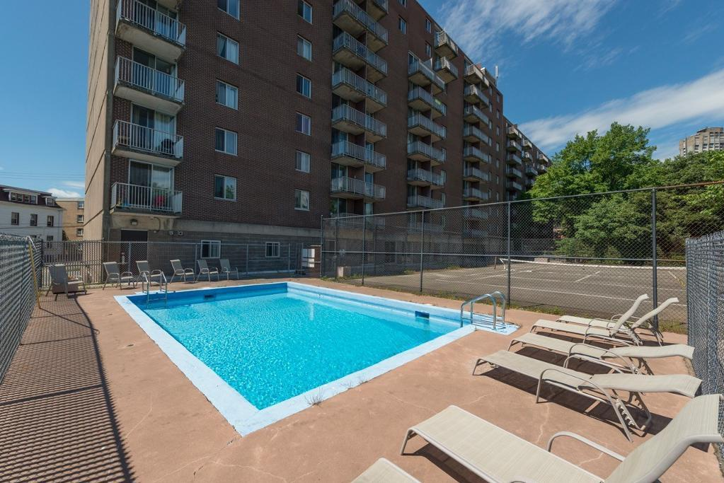Apartment for rent at 5415 Victoria Road, Halifax, NS. This is the pool with pool.