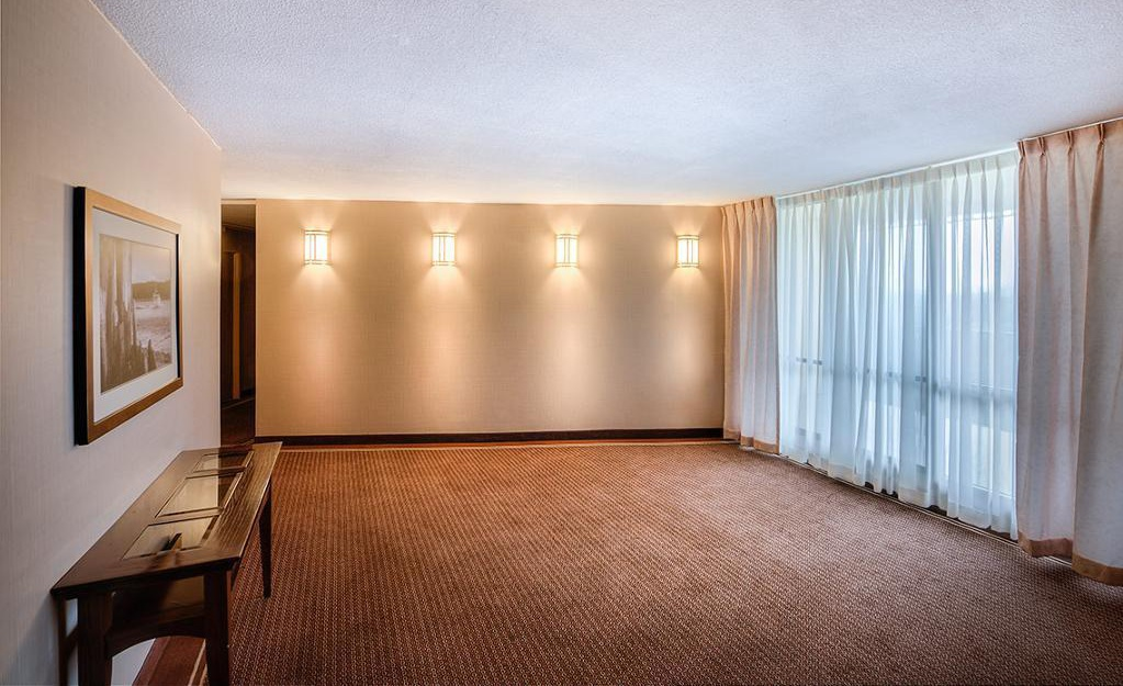 Apartment for rent at 5651 Ogilvie Street, Halifax, NS. This is the empty room with carpet and natural light.