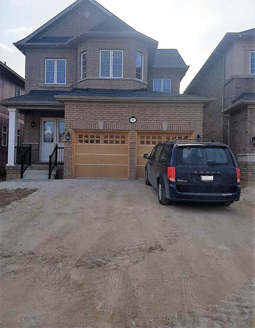 House for rent at 92 Morningside Dr, Halton Hills, ON in craftsman style. This is the front of the house.