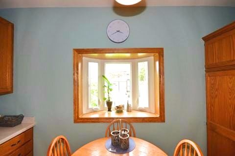 Apartment for rent at 17 Gladstone Ave, Hamilton, ON. This is the dining area with natural light.