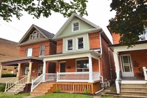 Apartment for rent at 17 Gladstone Ave, Hamilton, ON in victorian style. This is the front of the house.