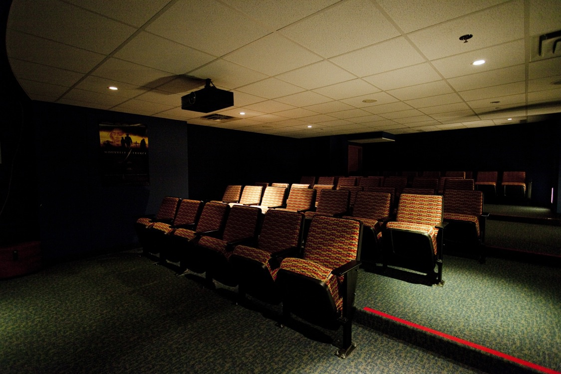 Not Sure for rent at 1 Place De La Belle-Rive, Laval, QC. This is the cinema room with carpet.