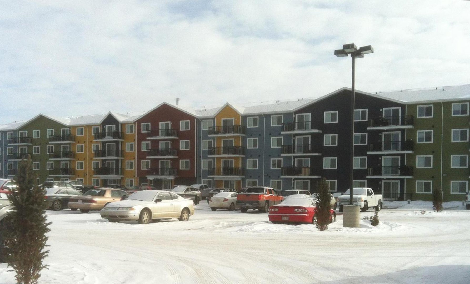 Mid-Rise-Apartment for rent at 7104 41 Street, Lloydminster, AB.