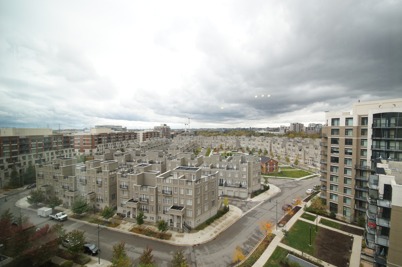 Condo for rent at 8130 Birchmount Rd, Markham, ON. with lawn.
