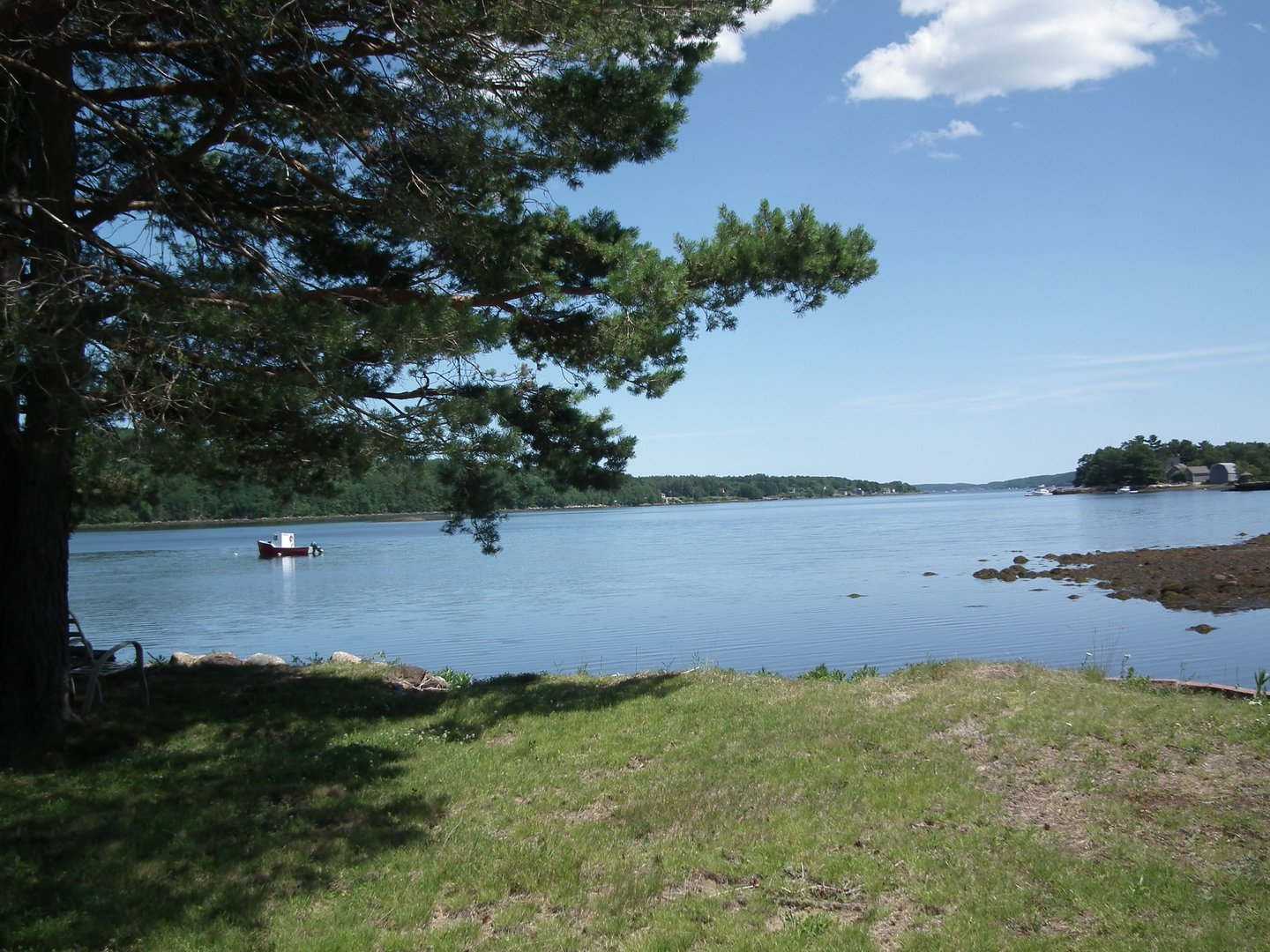 House for rent at 1751 NS-331, Pleasantville, NS. This is the water view with water view and lawn.