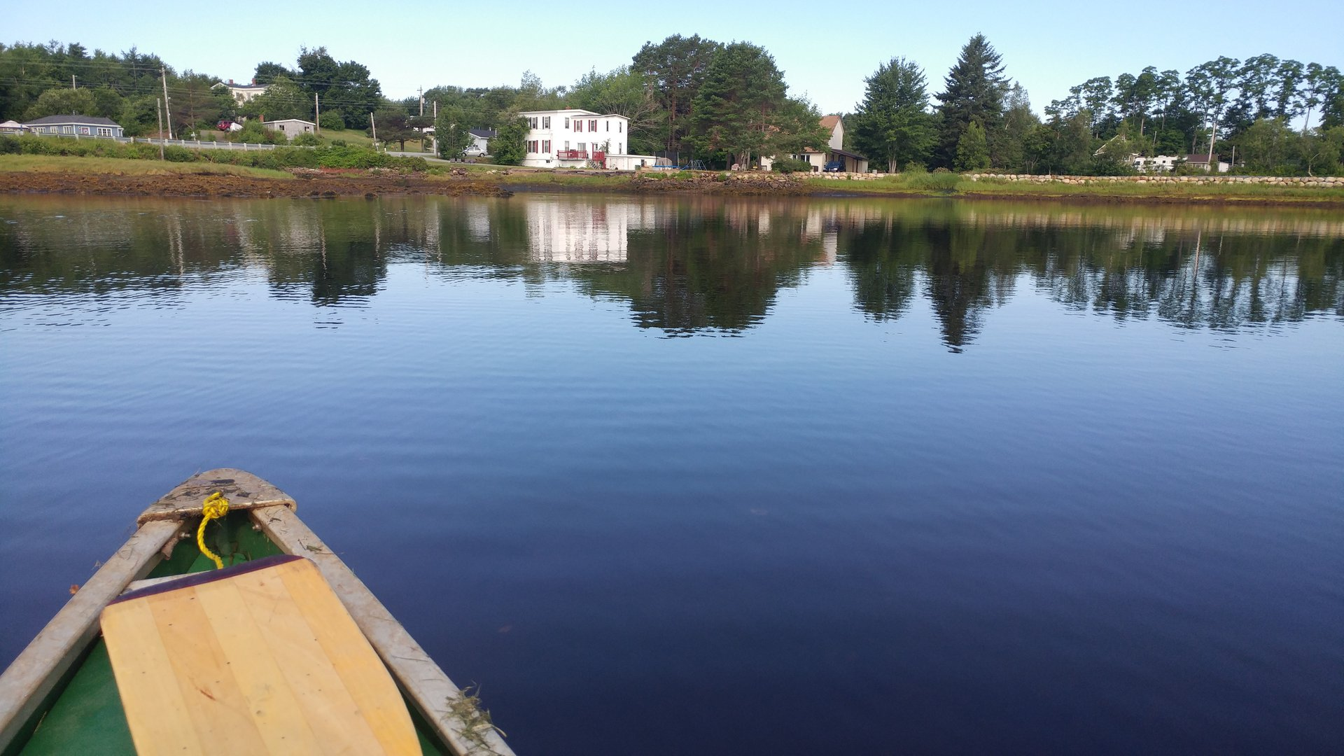 House for rent at 1751 NS-331, Pleasantville, NS. This is the water view with water view and dock.