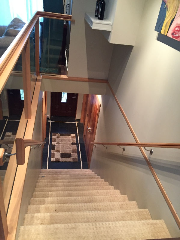 House for rent at 2 Ave W, Prince Rupert, BC. This is the stairs.