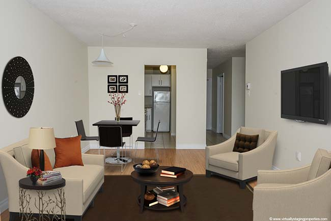 Apartment for rent at 2200 Chapdelaine Avenue, Québec City, QC.