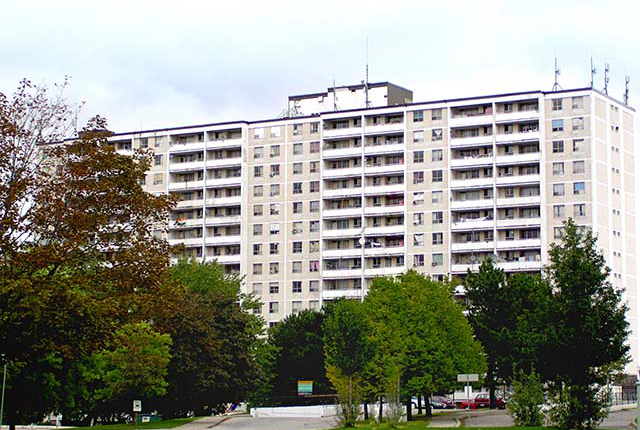 Apartment for rent at 30 Tuxedo Court, Scarborough, ON.