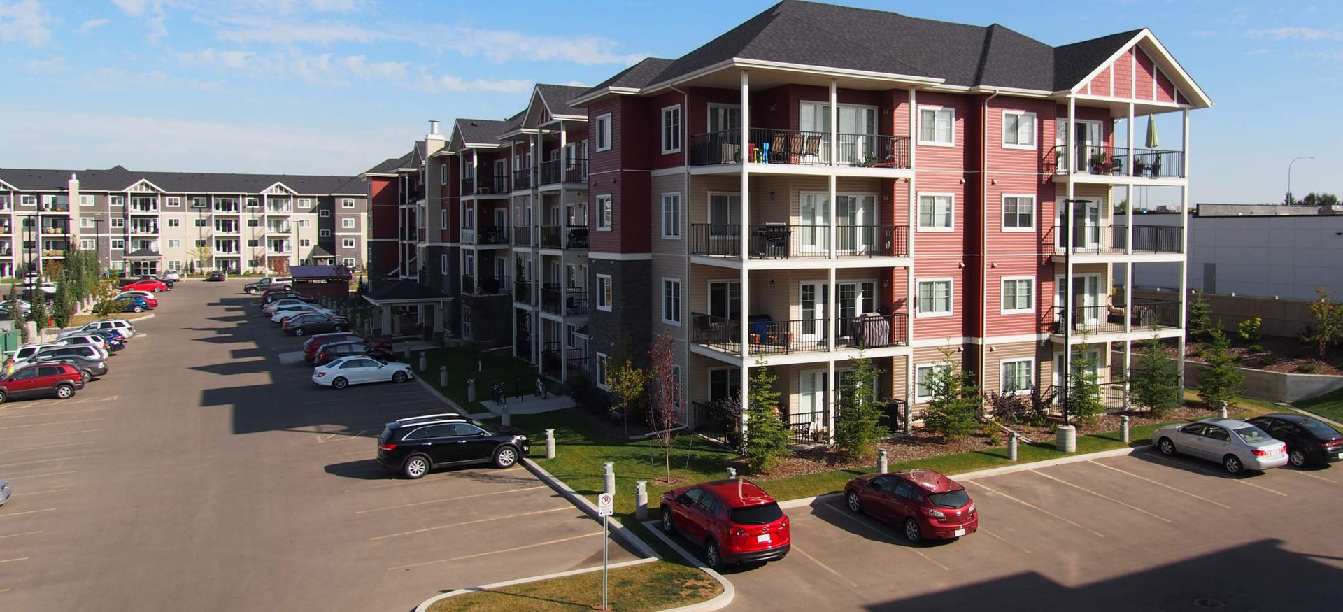 Apartment for rent at 4 & 6 Augustine Crescent, Sherwood Park, AB. This is the outdoor building.
