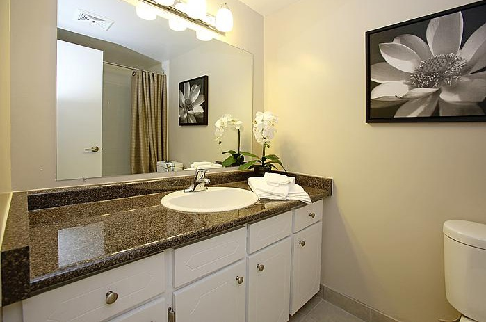 Not Sure for rent at 3445 Riverside Drive East, Windsor, ON. This is the bathroom with tile floor.