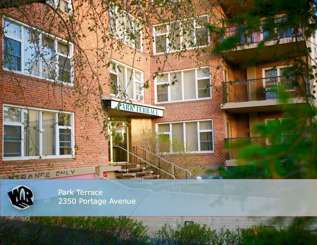 Apartment for rent at 2250 Portage Avenue, Winnipeg, MB. This is the front of the house.